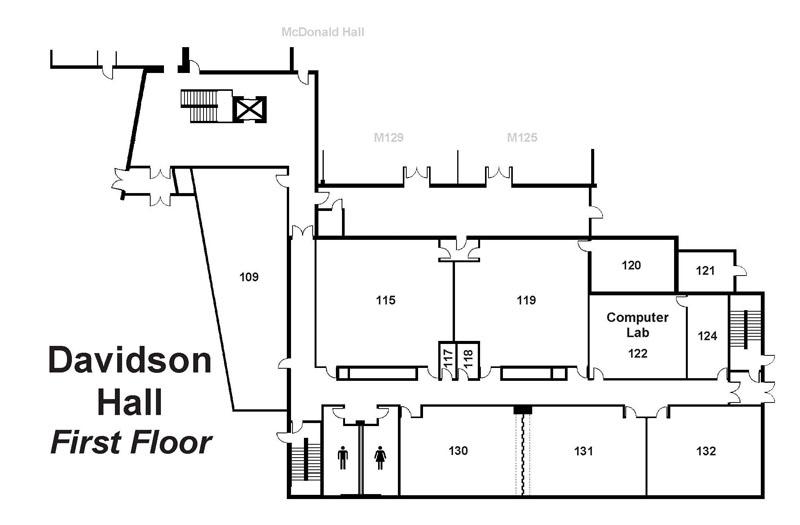 Davidson Hall Main View Davidson Hall Floor Maps My Crowder