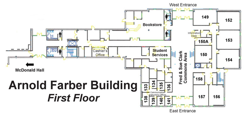 Arnold Farber Building Floor Plans Main View Farber Building
