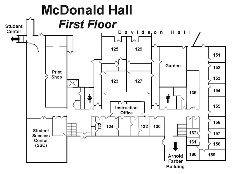 Floor Maps Mcdonald Hall My Crowder